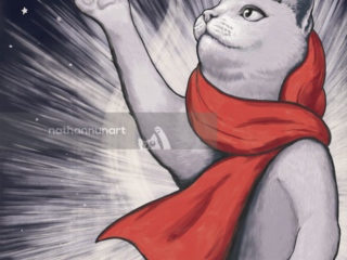 In the Name of Peace - part of my Soviet Cat series of pastiche cat posters.